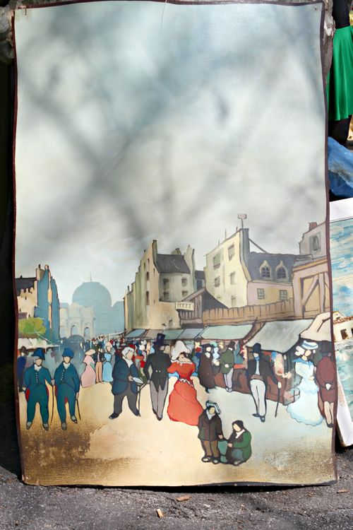 French painting at the brocante corey amaro