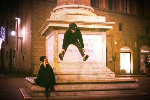 Jumping for David