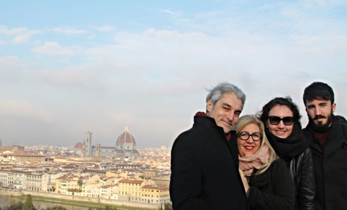 family in Florence