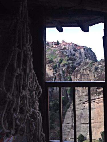 greece meteora monastery