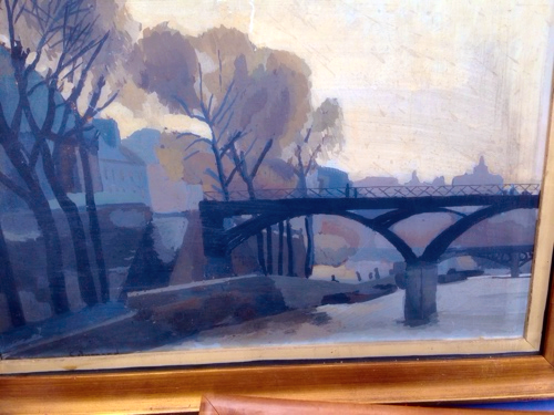brocante painting