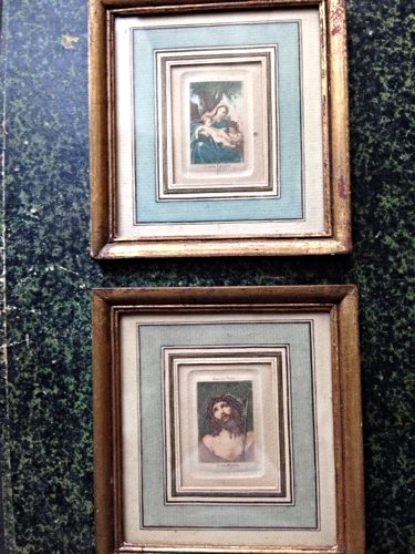 French antique engravings