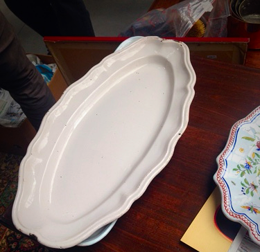 faience platter moustiers french