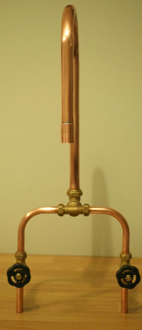 Copper kitchen industrial faucet
