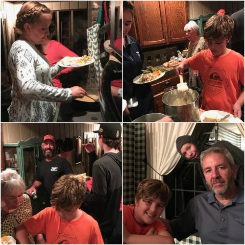 Family dinner corey amaro