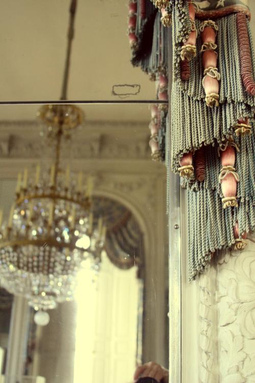 Grand Trianon interior, Curtains