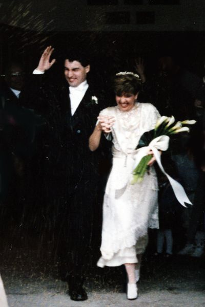 Corey and yann wedding photo
