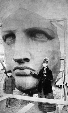 The face of liberty