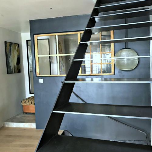 Iron stairs  corey amaro