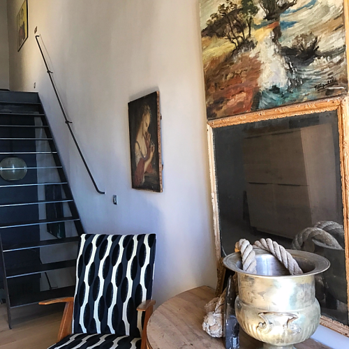 Home decor, old meets new, Corey Amaro, cassis