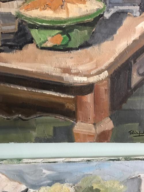 Provencal painting, brocante style, Corey Amaro