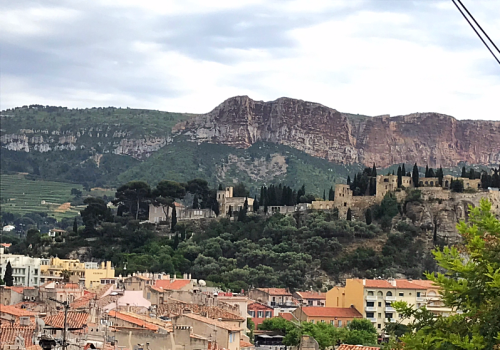 living in france, cassis, rain in Provence