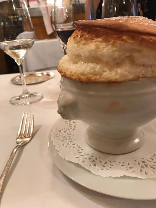 Soufflé, Chez Dumonet in Paris