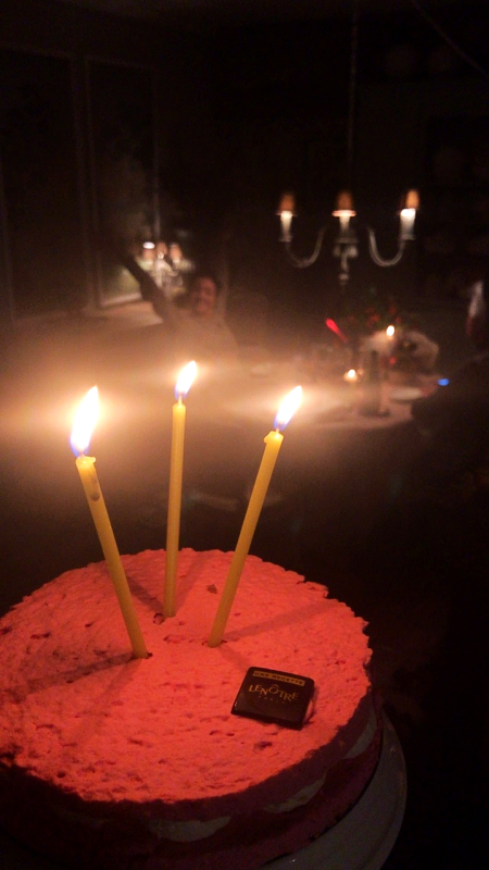 Birthday around Christmas