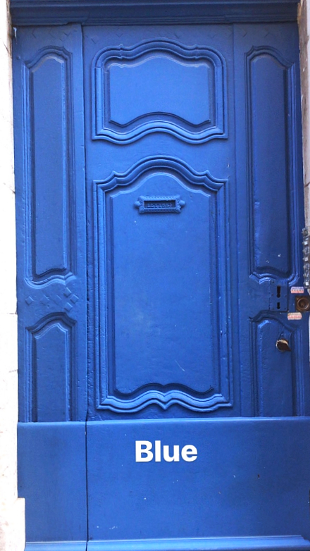 bleu door artful way