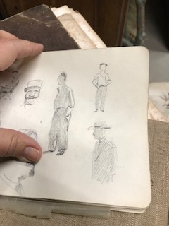The Sketchbook from an Unknown Artist