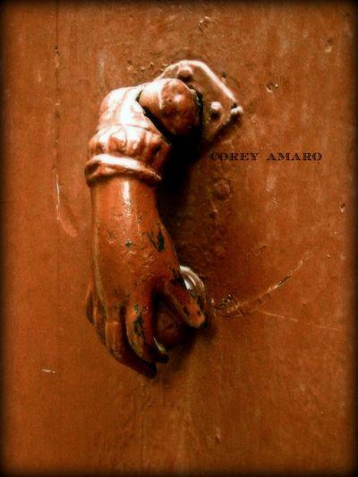 Fatima French door knocker