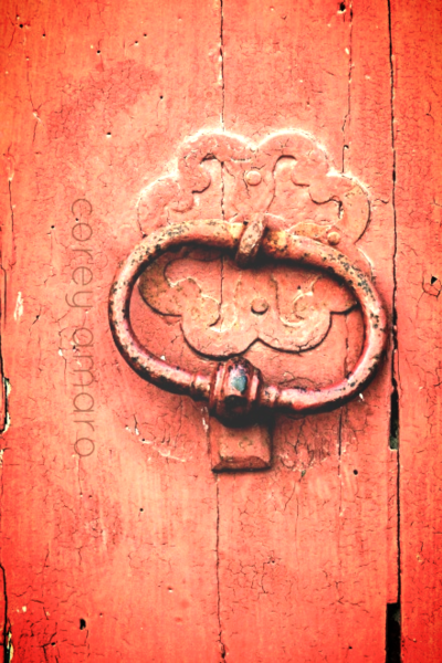 France Brocante French Door Knocker 18th Century