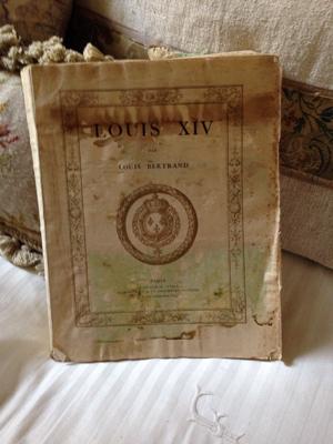 French Brocante Louis XIV Book