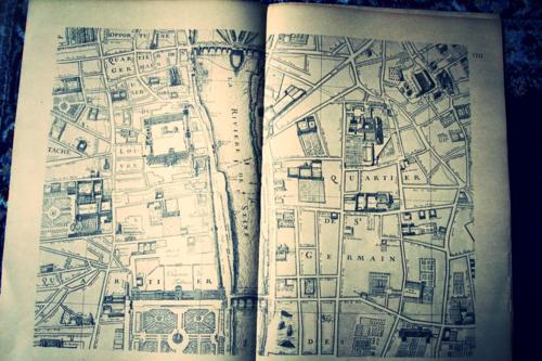map of paris Corey amaro
