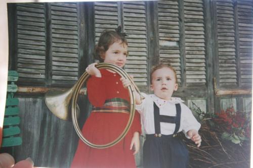 chelsea and Sacha Christmas