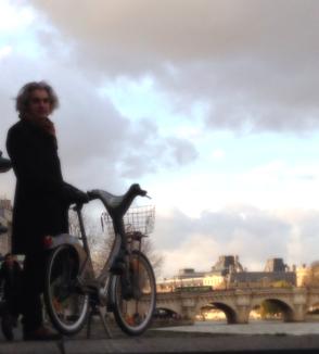 Paris Seine Bicycle corey amaro