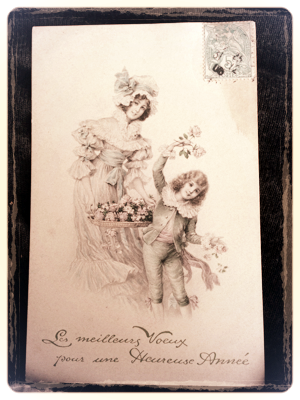 Number 32 French Antique Postcard