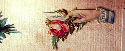 vintage wedding scrapbook