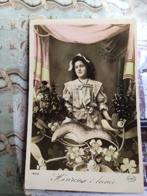 Number 44: French Postcard antique collection Corey Amaro