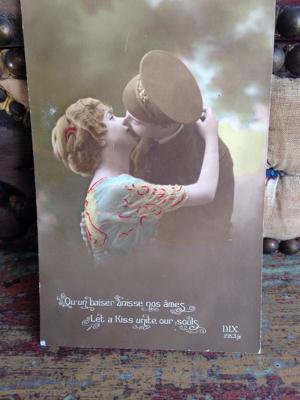 French Valentine Postcard