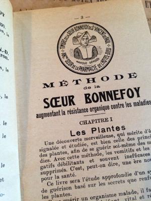 Sister Bonnefoy Natural Remedies