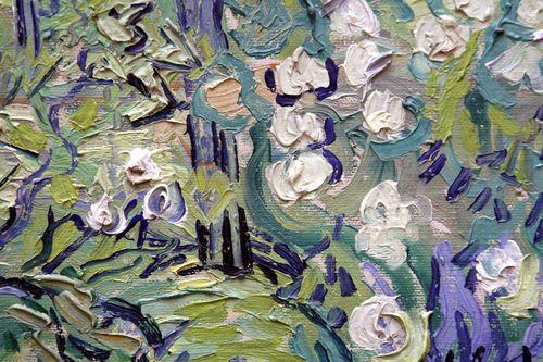 Monet brush strokes corey amaro orsay paris