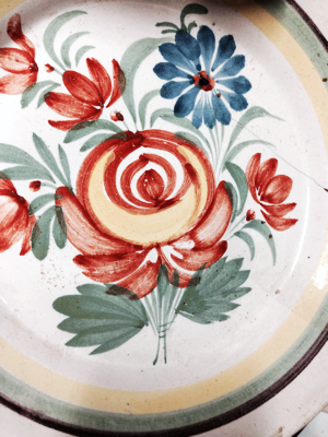 18th Century French Plates
