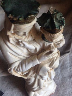 Madona and Child Figurine