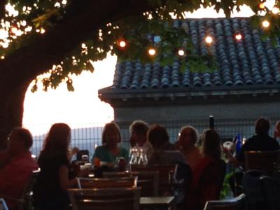 Sunset Dinner in Provence