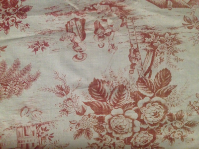 French Antique toile