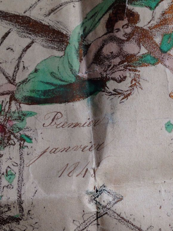 An Old Love Letter 1848