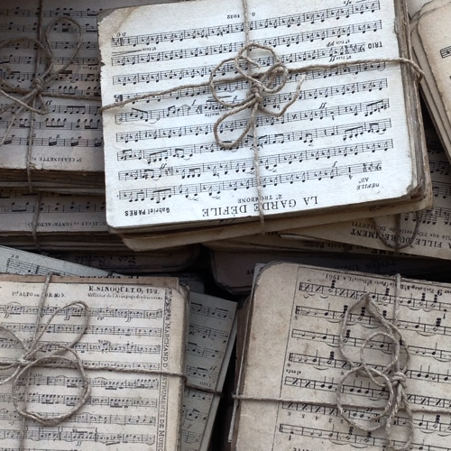 1900s Music Papers