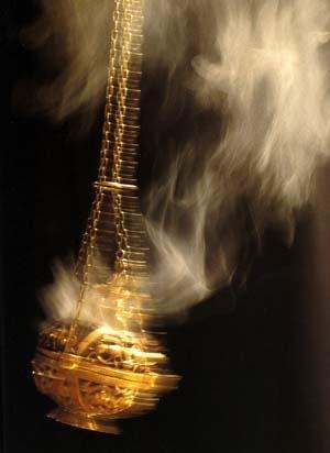 Church incense burner