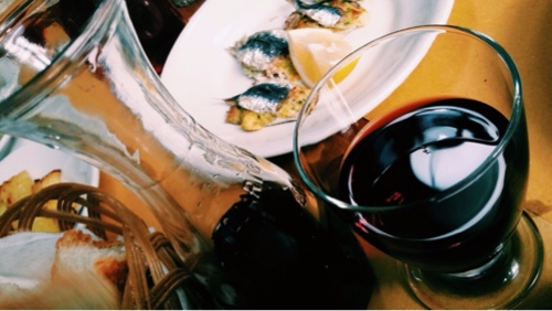 savona vino e farinata