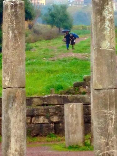 kalamata greece ruins