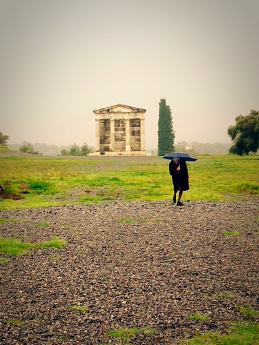amongst the ruins greece, corey amaro