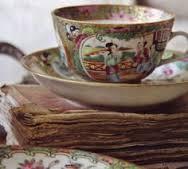 Tea cup rose medallion
