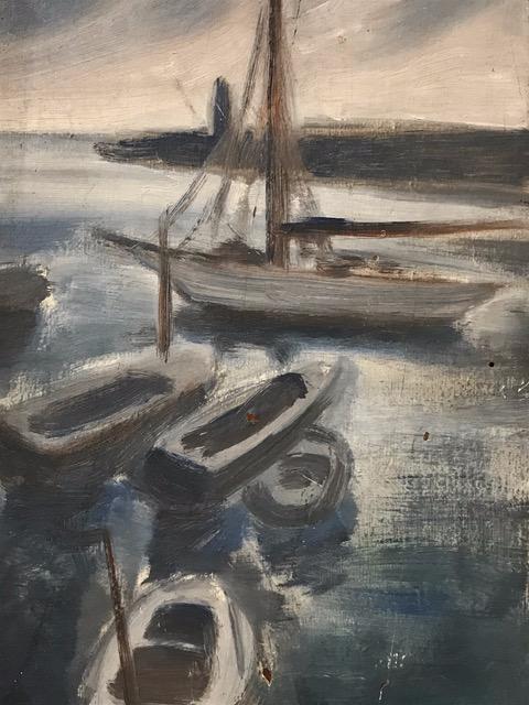 boat painting cassis corey amaro