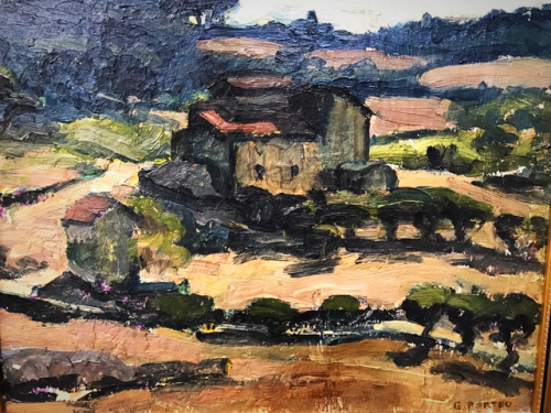 Painting Provence, corey amaro, living in France