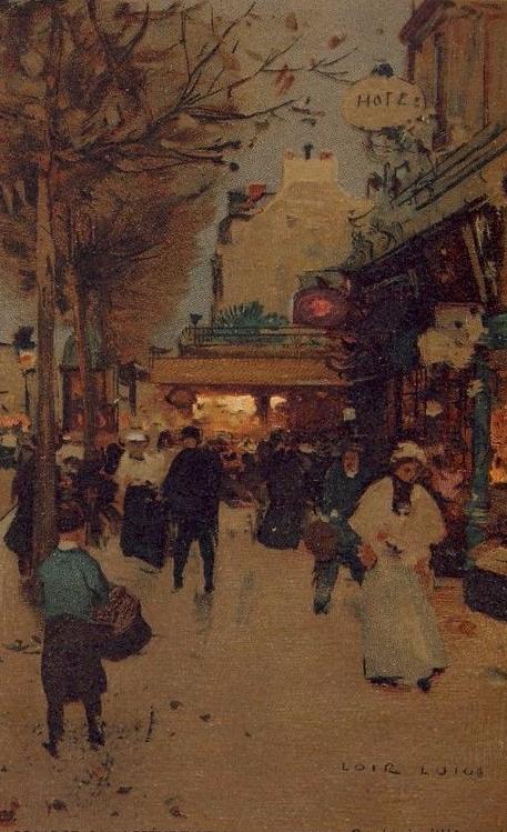 Luigi LOIR Seine Paris