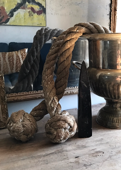 Monkey fist rope, Home Decor, Brocante, Corey Amaro