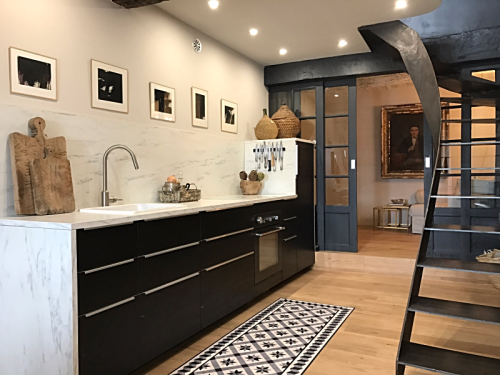 Kitchen, French design, Modern with Antiques, Corey Amaro
