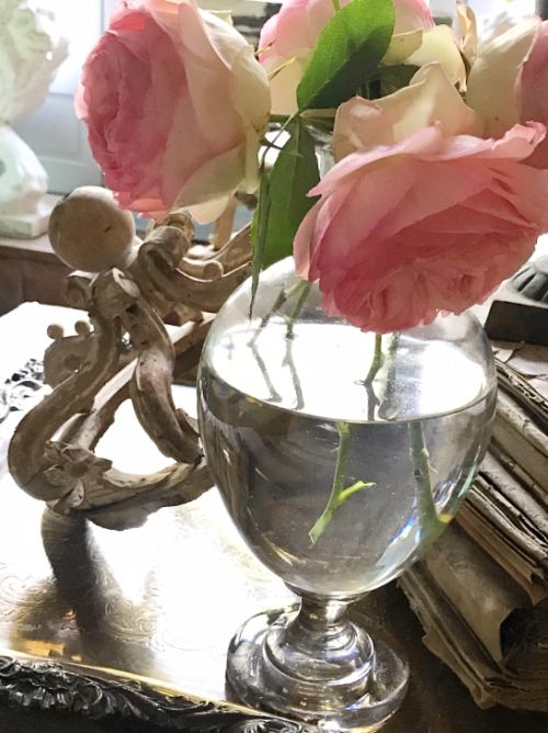 roses from the garden,
