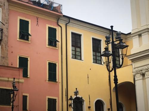 Sanremo, Italy, Colorful facades. Corey Amaro